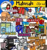 Materials clip art- Big set of 140 items!