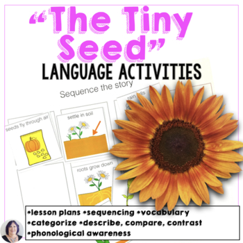 Language Materials The Tiny Seed modified for speech therapy special education