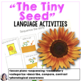The Tiny Seed Book Companion Activities for Speech Therapy Special Education