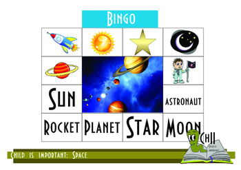 Materials for the study of space with younger children.