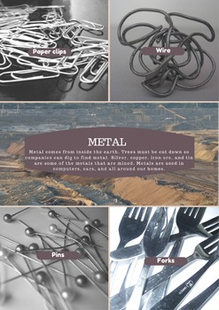 Materials from the Earth Poster