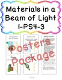 Materials in a Beam of Light Posters Package 1-PS4-3