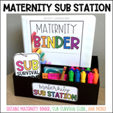 Maternity Binder & Sub Station (Extended Leave)