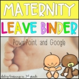 Maternity Leave Binder