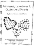 Editable Maternity Leave Letter