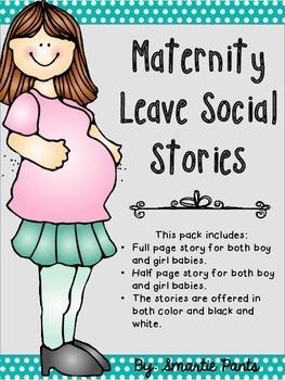 Maternity Leave Social Story