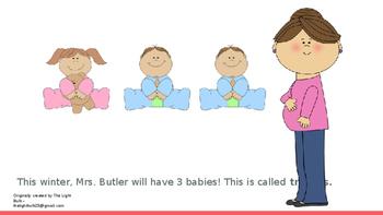 Maternity Leave Social Story (fully editable)