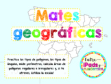 Mates Geográficas: España y Europa, 'poligonizadas'