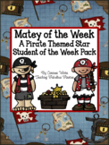 Matey of the Week: An EDITABLE Pirate Themed Star Student