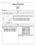 Math 1 Statistics EOC Review Bundle