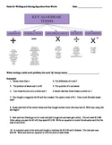 Math 1 Unit 1 Note Taking Guides