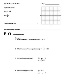 Math 1 Unit 3 Note Taking Guides