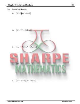 Math 10: Ch 3.7 Multiplying Polynomials