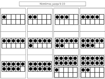 Math 10-frame Matching