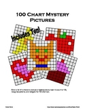 Math: One Hundred 100 Chart Mystery Pictures x10 (Counting