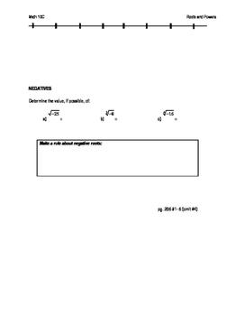 Math 10C class handout notes