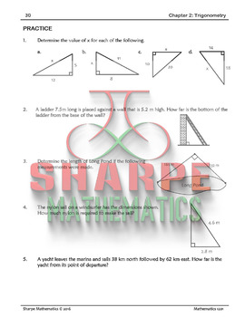 Math 10: Ch 2.1 The Pythagorean Theorem and Labelling Triangles