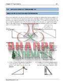 Math 10: Ch 2.5 Applications of Trigonometry