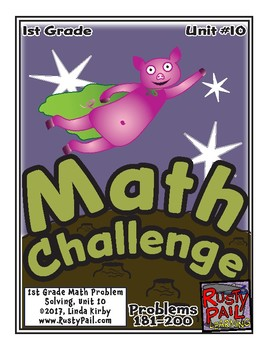 Math-1st Grade, Month 10: Challenge Problem Solving (Quest