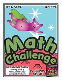 Math-1st Grade, Month 3: Challenge Problem Solving (Questions 41-60)