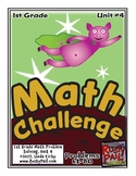 Math-1st, Grade, Month 4: Challenge Problem Solving (Questions 61-80)