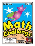 Math-1st, Grade-Month 5: Challenge Problem Solving (Questions 81-100)