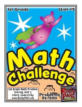 Math-1st, Grade-Month 5: Challenge Problem Solving (Questi