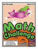 Math-1st, Grade-Month 7: Challenge Problem Solving (Questions 121-140)