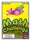 Math-1st Grade-Month 8, Challenge Problem Solving (Questions 141-160)