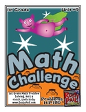 Math-1st Grade, Month 9: Challenge Problem Solving (Questions 161-180)