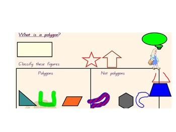 Math SmartBoard - Two dimensional shapes