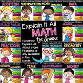 Math Activities Bundle