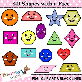 Shapes Clip art 2D