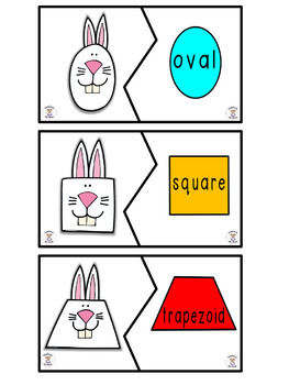 Shapes - 2D Shapes - Bunny, Bunny With Your Nose So Pink