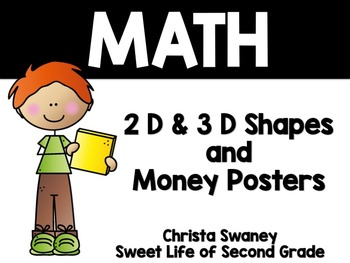 Math: 2D and 3D Posters/Money Posters
