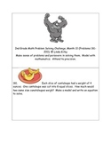 Math-2nd, Grade-Month 10: Challenge Problem Solving (Questions 181-200)