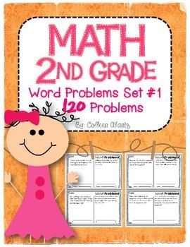 2nd Grade Word Problems Set #1