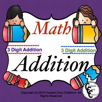 Math 3-Digit Addition
