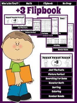 Math:  +3 Flipbook