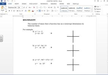 Math 30-1 Alberta course notes