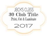 Math 30 Club Title
