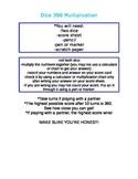 Math 360 Multiplication Fact Game