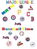 Fractions, Decimals and Percents Baseball Bundle