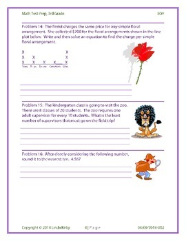 Math-3rd End of Year Test Prep