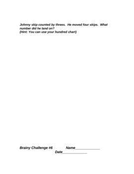 Math 3rd Grade Brainy Challenge 4 5 6