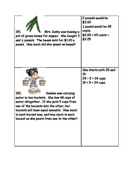 Math-3rd Grade-Month 10: Challenge Problem Solving (Questions 181-200)