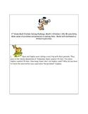 Math-3rd Grade-Months 1-10: Challenge Problem Solving (Que
