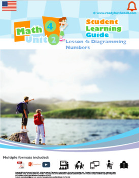 Math 4: Algebra: Patterns and Relations: L4: Diagramming Numbers