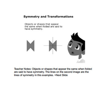 Math 4: Geometry: Shape and Space: L4: Symmetry