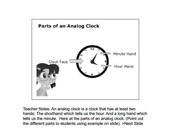 Math 4: Geometry: Shape and Space: L5: Time